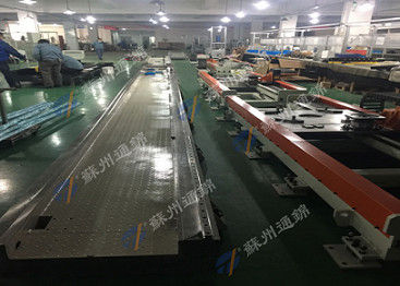 Transportation Industrial Robotic Linear Track , Long Stroke 7th Axis Up To 70m