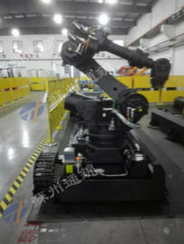 Cutting Industry Robot Rail System , 7th Robot Axis Flexible To Install